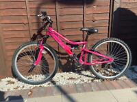 Apollo spiral ladies bike (used twice)