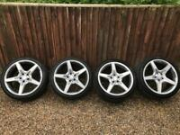 "Mercedes-Benz SL AMG 350/400/500, 19"" Alloy Wheels + Pirelli tyres!"