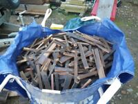 BULK BAG OF HARDWOOD MAHOGANY FIREWOOD AVAILABLE, NORWICH NORFOLK, LOOSE SPLIT LOGS ALSO AVAILABLE
