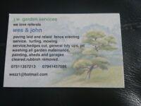 J w garden services