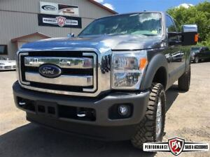 2015 Ford F-350 LARIAT CREW LONG BOX POWERSTROKE DIESEL!!