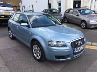 AUDI A3 2.0 TDI SPORTBACK AUTOMATIC LOW MILEAGE SAME OWNER FROM 2007 FULL HISTORY PARKING SENSORS