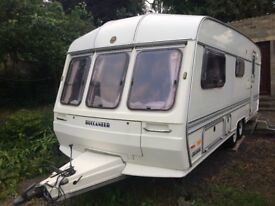 Buccaneer Cruiser 1989 3 berth Caravan Excellent condition for year £1600