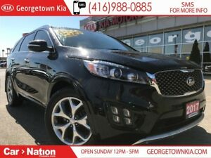 2017 Kia Sorento SX TURBO | ONE OWNER | CLEAN CARPROOF |