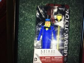 Batman Animated Figures Mad Hatter and The Riddler New