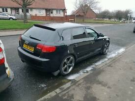 Audi a3 2.0 TFSI s-line special edition £3700 cash or swap