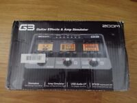 Zoom G3 Guitar Multi-Effects and USB Interface Pedal