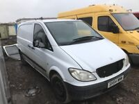 Mercedes Vito van parts available gesrbox diff prop shafts seats