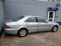 Mercedes S320. 1 owner from new