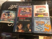 5 Sega Dream Cast Games - Bargain!