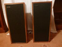 2 Celestion 15 Speakers - Teak Wood Surround