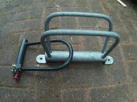 Bicycle Wall/Floor bracket & Locking D-Bar