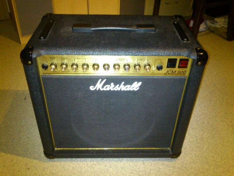 marshall jcm 900 high gain dual reverb r hrenverst rker in bayern hof musikinstrumente und. Black Bedroom Furniture Sets. Home Design Ideas