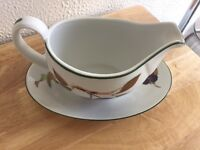 Royal Doulton Evesham Vale Gravy Boat and Stand