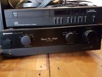 Hi fi equipment, Pioneer A400 amp , Arcam alpha plus cd player,Mission Speakers, top grade cables.
