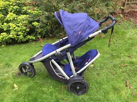 Phil & teds verve v2 double buggy