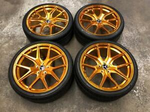 19 Polished Gold Wheels 5x112 and All Season Tire Package (Mercedes Cars)  ***ON SALE*** Calgary Alberta Preview