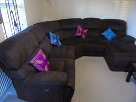 sofa- from furniture village L shape + 2 seater