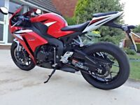 Honda CBR1000RR Fireblade 2013 Anniversay Edition only 3.6k miles