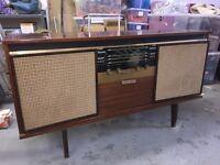 Antique Music unit (radio and record player)