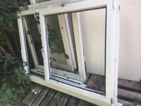 Upvc window 170w x 119h with glazing
