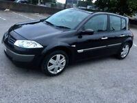 Renault Megane Black, 1.4 MOTD, 2 keys, Service history
