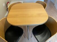 IKEA space saver dining table