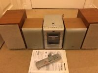 Panasonic + JVC speakers And JVC DVD stereo system - Ono