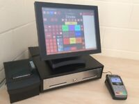 ★ Touchscreen Epos Pos Till for Restaurant, Takeaway, Nightclub, Bar / Pub, Cafe, Hotel, Cafe