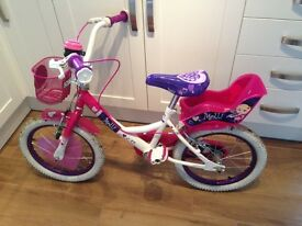 "Girls 16"" Raleigh bike"