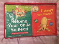 Children's phonics level 1 to 3 books