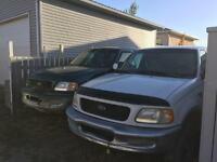 Two 1998 Ford F-150