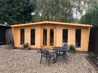 Brand new log cabin