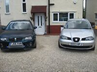 WANTED VW T4 SWAP FOR MY 2 CARS MG ZR T16 TURBO 2006 AND MY SEAT IBIZA 130 1.9TDI 2003