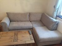 Next grey corner sofa