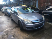 BREAKING - VAUXHALL ASTRA MK5 H - FRONT BUMPER - GREY -ALL PARTS AVAILABLE