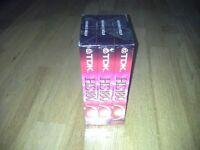BRAND NEW - TDK HS180 Blank Video Cassettes [3 Pack]