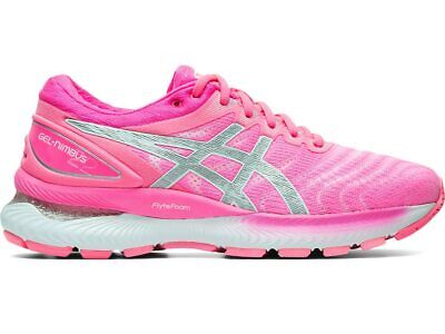 Asics GEL NIMBUS 22 Women's 1012A587.701 HOT PINK/PURE SILVER Running Shoes