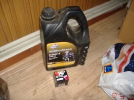 new oil and kn filter for drz400.s