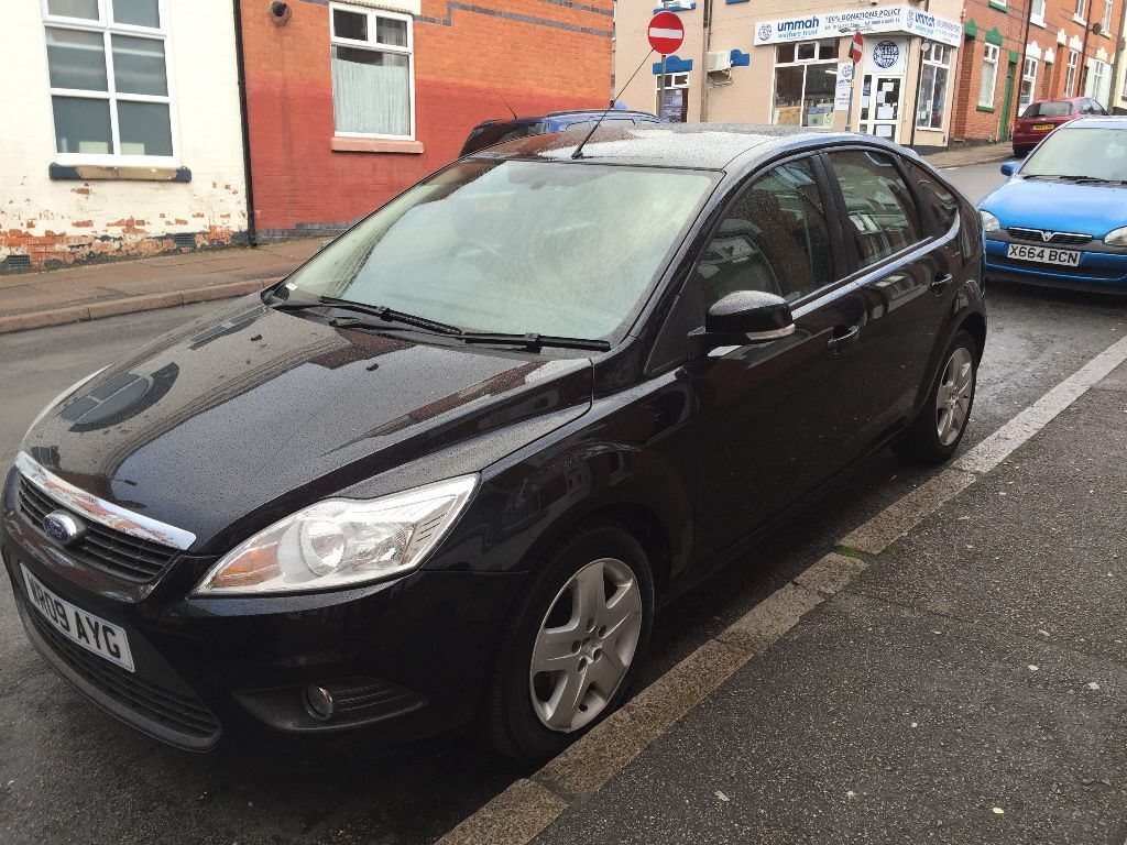 excellent condition 2009 ford focus 14 style in black fsh only 46k hpi - Ford Focus 2009 Black