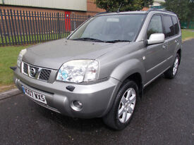 NISSAN X TRAIL2.2 AVENTURA DCI 4X4 12 MONTHS MOT 2 KEY SAT NAV LEATHER *open 7 days by appointment*