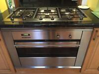 Smeg oven and hob set