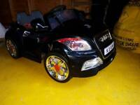 Audi tt 12v electric car
