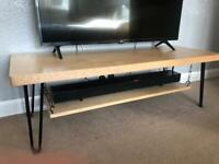 Bespoke tv stand, perfect condition