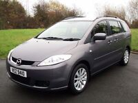 2007 MAZDA 5 DIESEL TS2 *7 SEATER* LOW MILES!!! LIKE ZAFIRA ALHAMBRA GALAXY SHARAN PICASSO