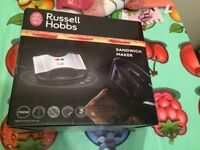 Russell Hobbs 2-Portion Non-Stick Sandwich Toaster for Sale