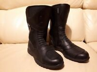 Oxford waterproof motorcycle boots, size 7