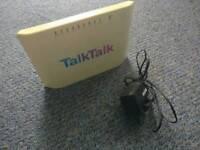 Talk Talk wireless broadband router