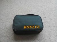 Set of boules in carry case