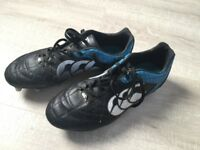 Cantebury Rugby boots adult size 8
